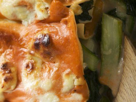 Lasagne mit Gemüse