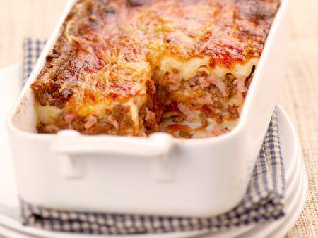 Lasagne mit Speck