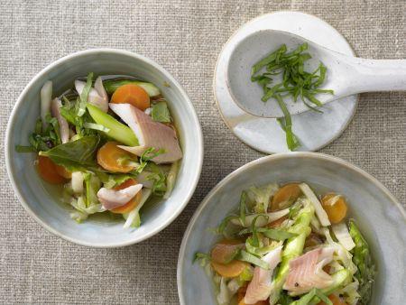 Leichter Gemüseeintopf