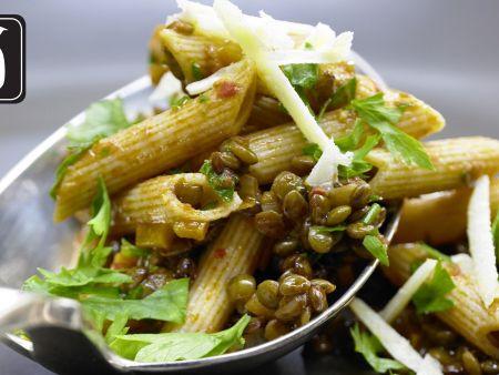 Linsen-Gemüse-Bolognese für den Thermomix
