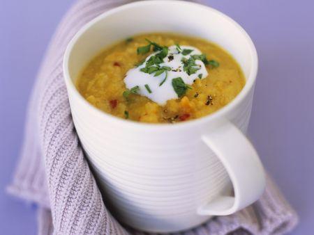 Linsen-Karotten-Suppe