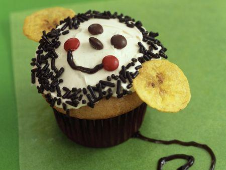 Lustiger Cupcake