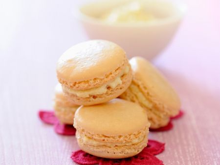 Macarons mit Sirup