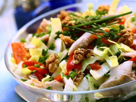 Makrelensalat mit Chicoree