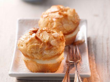 mandel muffins mit creme f llung rezept eat smarter. Black Bedroom Furniture Sets. Home Design Ideas