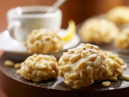 Mandel-Pinienkern-Kekse