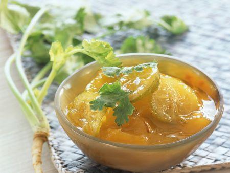 Mango-Kumquatchutney