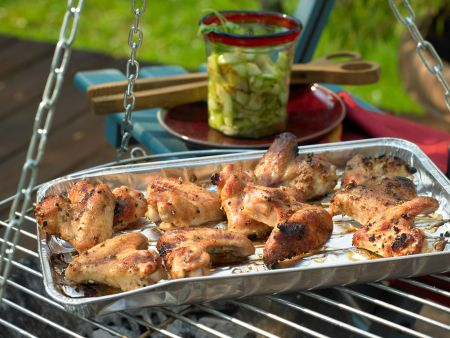 Marinierte Chicken Wings