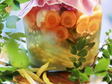 Mariniertes Gemüse