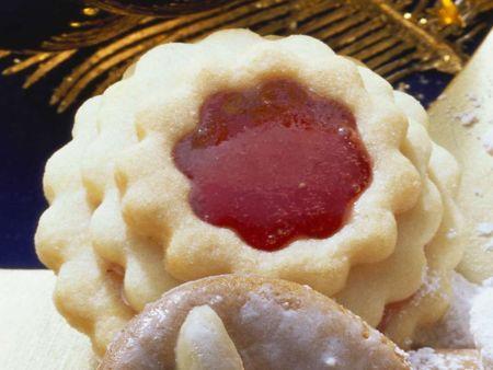 Marmeladenplätzchen