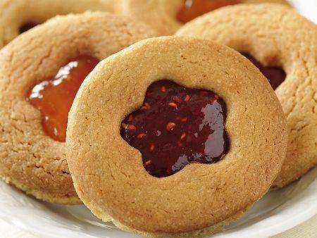 Marmeladenplätzchen nach französischer Art (Sables)