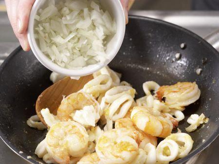 Meeresfrüchtesalat: Zubereitungsschritt 8