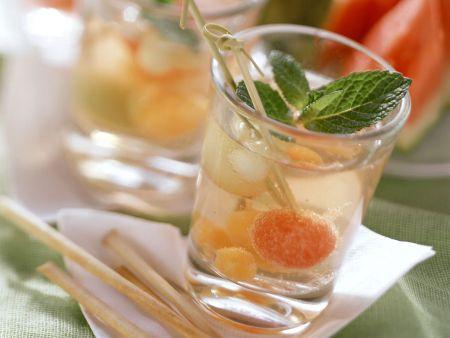 Melonen-Cocktail