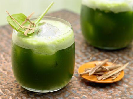 Melonen-Spinat-Saft