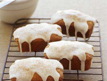 Mini-Apfelkuchen mit Zuckerguss