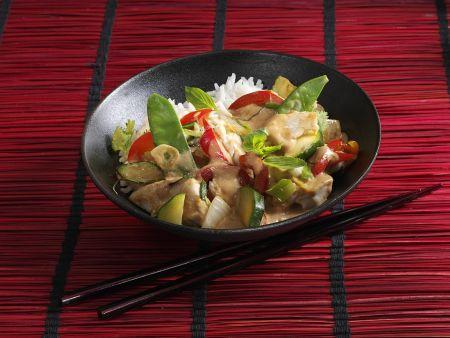 Mock Chicken Thai-Curry