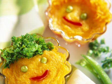 Möhren-Kartoffel-Soufflee