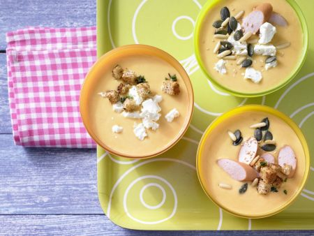 Möhren-Orangen-Suppe
