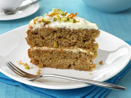 Möhrenkuchen mit Mascarpone