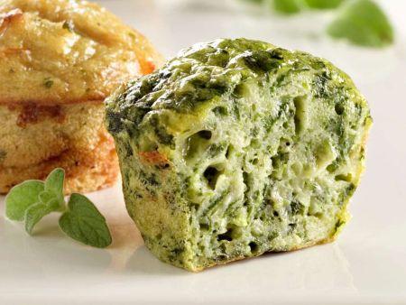 Muffins mit Brokkoli