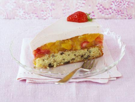 Obstkuchen mit Mascarponecreme