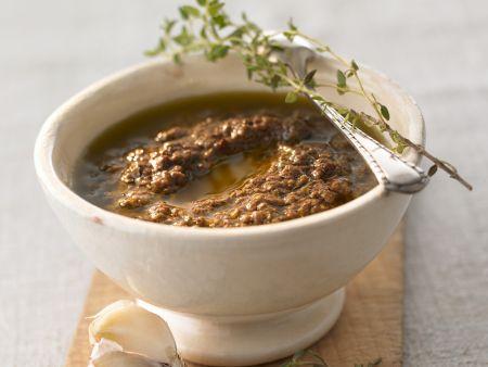 Olivencreme nach provenzalischer Art