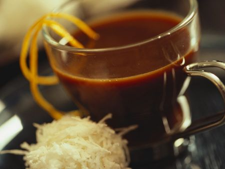 Orangen-Kaffee