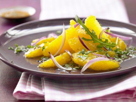 Orangen-Zwiebel-Salat