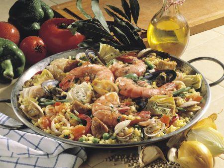 Paella auf katalanische Art