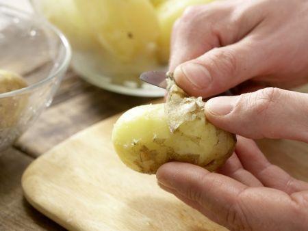 Pannfisch mit Senfsauce: Zubereitungsschritt 2