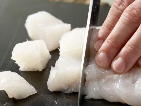Pannfisch mit Senfsauce: Zubereitungsschritt 4