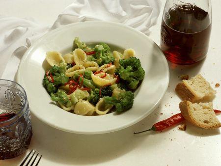 Pasta mit Broccoli