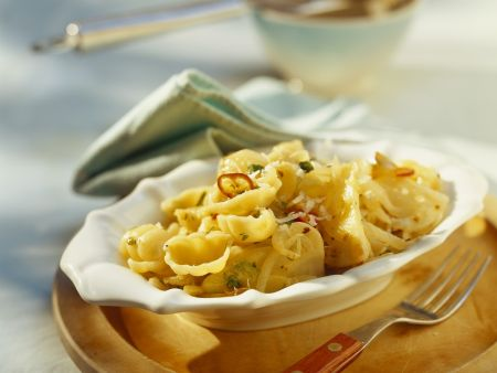 Pasta mit Fenchel