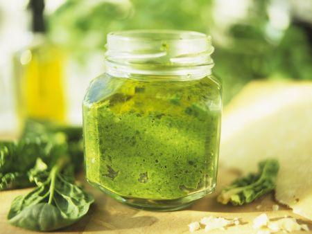 Pesto aus Spinat