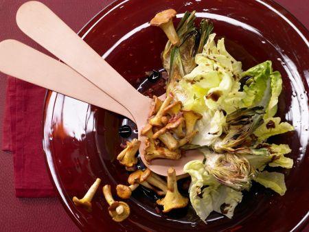 Pfifferlingssalat mit Artischocken