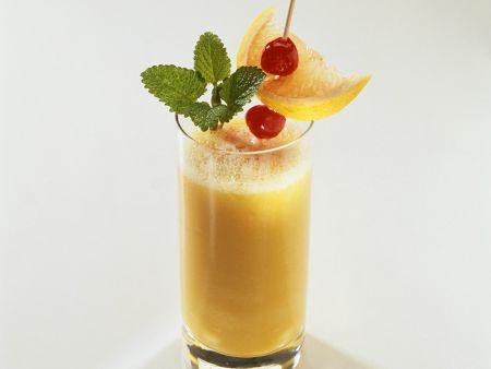 Pfirsich-Drink
