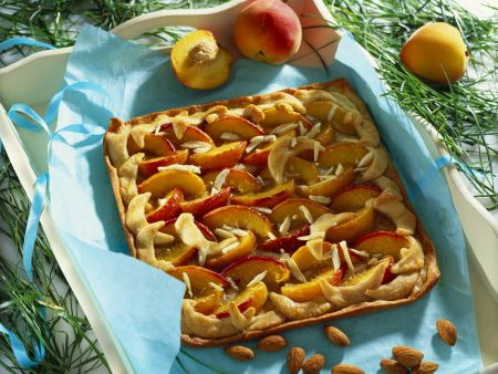 Pfirsich-Mandel-Kuchen
