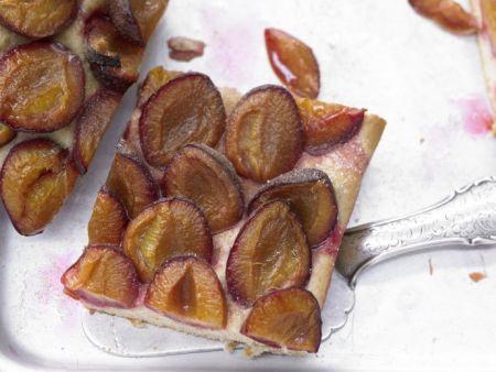 Kochbuch für Pflaumenkuchen