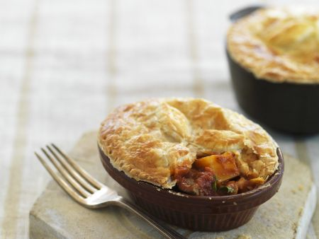 Pie mit Süßkartoffel