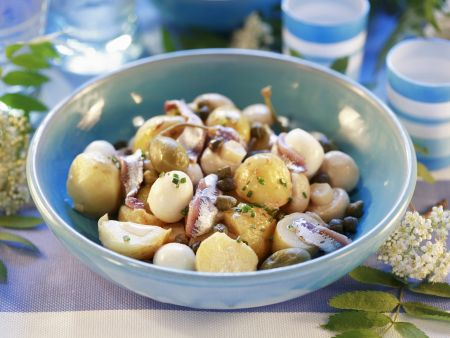 Pilz-Kartoffelsalat
