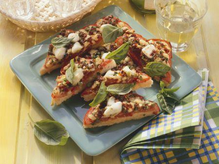 Pizza-Toastecken