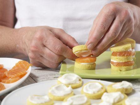 polenta lachs t rmchen mit kaviar rezept eat smarter. Black Bedroom Furniture Sets. Home Design Ideas