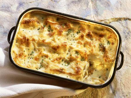 Puten-Lasagne