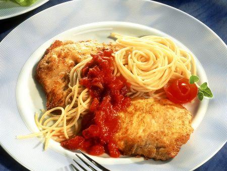 Putenschnitzel alle milanese