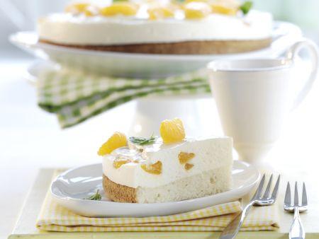 Quark Sahne Torte Mit Mandarinen Rezepte Eat Smarter