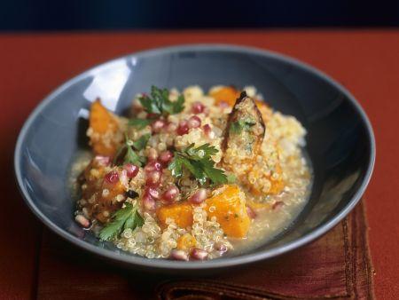Quinoa mit Butternusskürbis