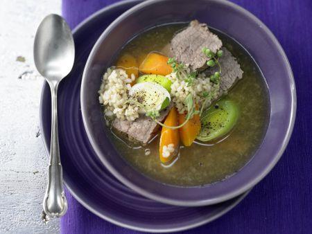 Reis-Gemüse-Suppe – smarter