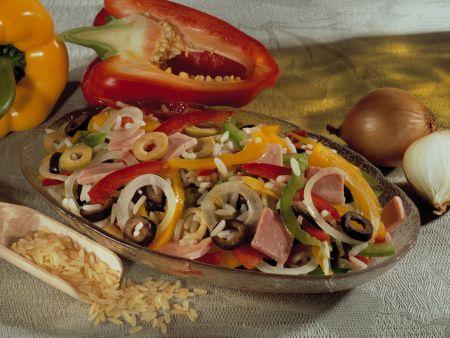 Reis-Paprika-Salat