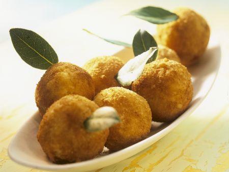 Reisbällchen auf italienische Art