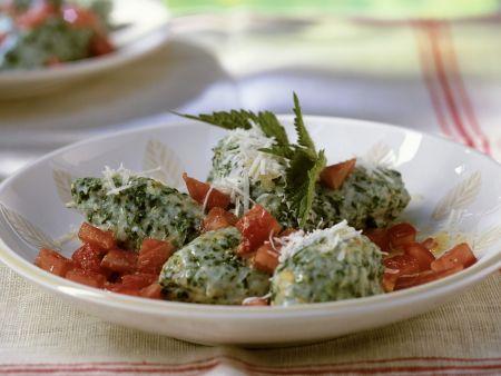 Ricotta-Gnocchi mit Brennnessel